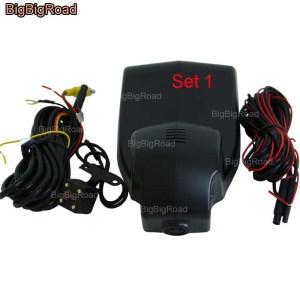 BigBigRoad Car Wifi DVR Video Recorder Dash Camera For BMW 3 5 7 series f10 z4 e9 750Li X3 X5 X6 e61 535d 2008 2009 2010 2011