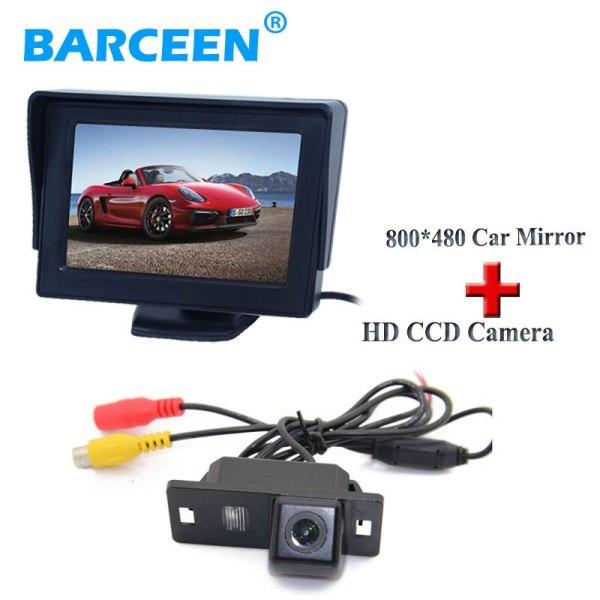 """Origianl car use In-Dash Placement 4.3"""" hd screen car monitor + car rear camera fit for Audi A4L 2013~2014 / TT/ A5/ A6/Q5"""