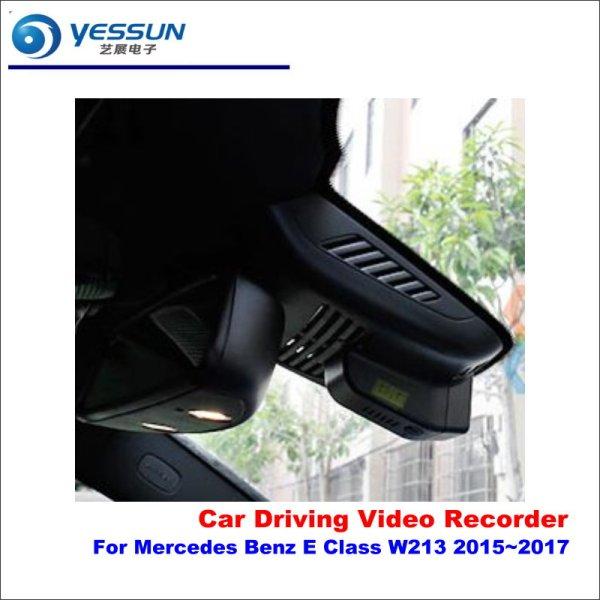 YESSUN Car DVR Camera Driving Video Recorder Dashcam For Mercedes Benz E Class W213 2015~2017 Rearview Camera AUTO Dvrs Dash CAM