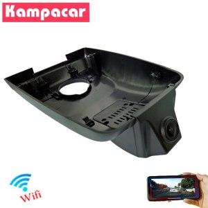 Kampacar Auto Wifi Car Dvr 1080P Driving Video Dash Cam Camera Car Recorder Dual Lens For Toyota Highlander 2018 2019 Two DVRs