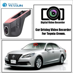 YESSUN for Toyota Crown Car Driving Video Recorder Wifi DVR Mini Camera Novatek 96658 FHD 1080P Dash Cam Night Vision