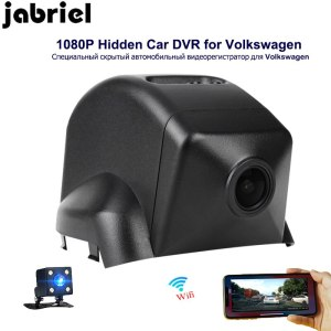 Jabriel auto HD 1080P wifi hidden car dvr driving recorder dash cam vehicle camera dual lens for 2015 2016 Volkswagen MAGOTAN
