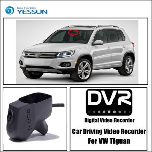 YESSUN for Volkswagen Tiguan Car DVR Driving Video Recorder Mini Control APP Wifi Camera FHD 1080P Registrator Dash Cam