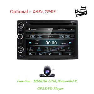 Fit Ford F150 F250/350/Edge/Fusion/Mustang In Dash DVD Player GPS Navigation Stereo Radio BT Steering Wheel Ctrl 3G RDS MAP CAM