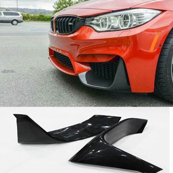 Auto Car Front Lip Splitter Cover trim for BMW F82 2014-2016