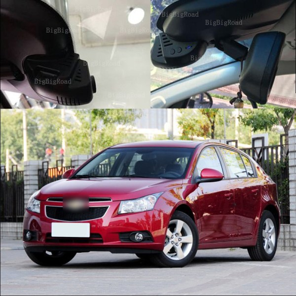 BigBigRoad For Chevrolet Cruze 2013 2014 2015 Car wifi DVR Video Recorder Dash Cam Camera Novatek 96655