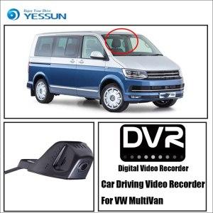 YESSUN Car Front Dash Camera CAM for Volkswagen MultiVan DVR Driving Video Recorder Function Car DVR Camera Video Recorder