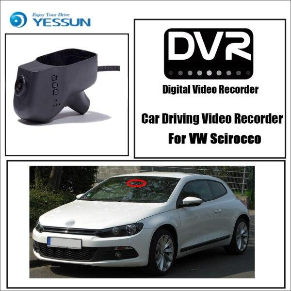 Volkswagen Scirocco Car DVR Driving Video Recorder Mini Control APP Wifi