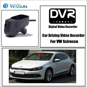 Volkswagen Scirocco Car DVR Driving Video Recorder Mini Control APP Wifi