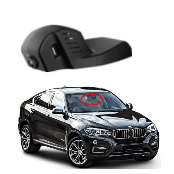 YESSUM for bmw X6 F16 40D 2018 Car Wifi DVR Car Driving Video Recorder Novatek 96658 Car Dash Cam Camera