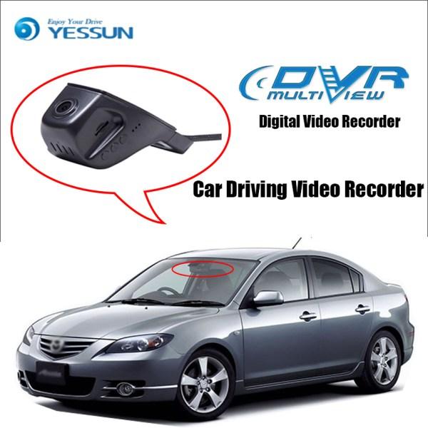 YESSUN for Mazda 3 323 Car Mini DVR Driving Video Recorder Control APP Wifi Camera Novatek 96658 Registrator Dash Cam