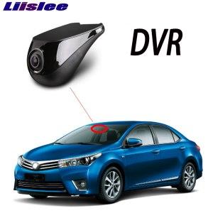 Liislee Car DVR Wifi Video Recorder Dash Cam Camera for Toyota Corolla E160 E170 2012~2019 Night Vision APP Control Phone 1080P