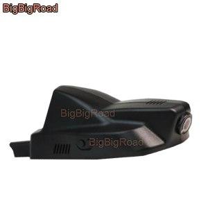 BigBigRoad Car Video Recorder Wifi DVR Dash Cam Dual Cameras lens FHD 1080P For peugeot 2008 2013 2014 2015 2016 2017