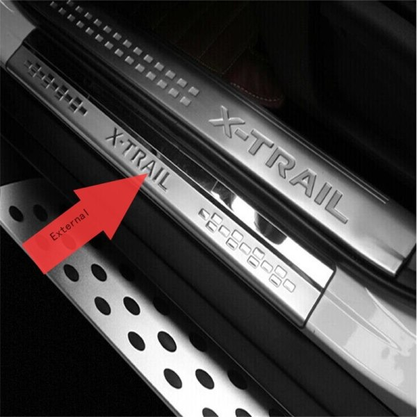 Nissan X-Trail T32 Door Sill Scuff Plate Welcome Peda