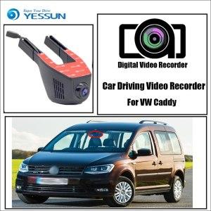 YESSUN for Volkswagen Caddy Novatek 96658 Registrator Dash Cam Car Mini DVR Driving Video Recorder Control APP Wifi Camera