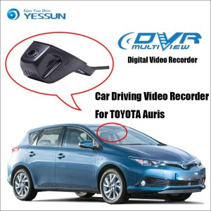YESSUN Car DVR Digital Video Recorder For TOYOTA Auris - Front Camera Dash - HD 1080P Not Reverse Parking Camera