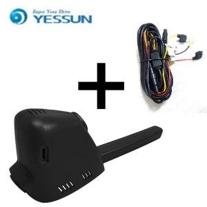 YESSUN for Peugeot 308 Car Driving Video Recorder DVR Mini Wifi Camera Novatek 96658 FHD 1080P Dash Cam Original Style