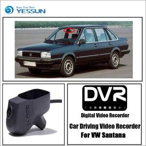 YESSUN for Volkswagen Santana Car DVR Mini Wifi Camera Driving Video Recorder Novatek 96658 Registrator Dash Cam Original Style