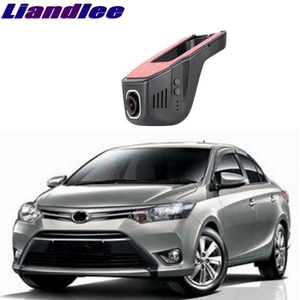 Liandlee For Toyota Vios XP40 XP90 XP150 2002~ 2018 Car Road Record WiFi DVR Dash Camera Driving Video Recorder