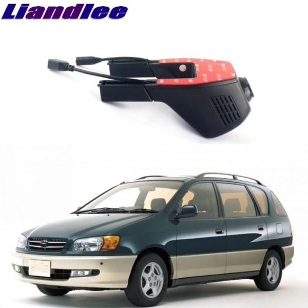 Liandlee For Toyota Ipsum / Sportsvan / Picnic 2001~2009 Car Road Record WiFi DVR Dash Camera Driving Video Recorder