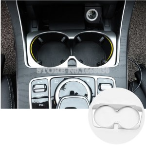 Cup Holder Cover Trim 1pcs For Mercedes Benz C Class W205 S205 2014-2018