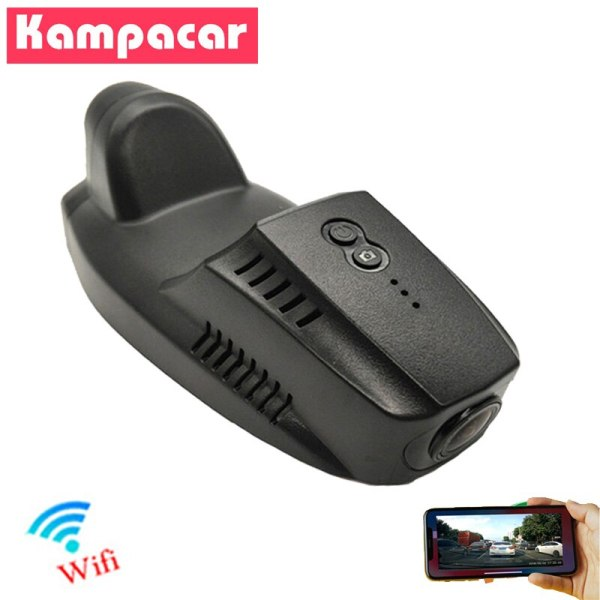 Kampacar HD 1080P Car Dvr Wifi Dash Cam Auto Driving Recorder Dual Lens Rearview Camera For Ford kuga escape 2015 2016 2017 2018