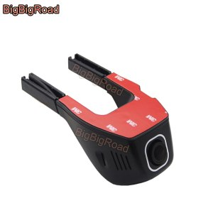 BigBigRoad For Toyota Fortuner vios supra previa Reiz Yaris Sienna Car Dash Cam Wifi DVR Dual Cameras night vision