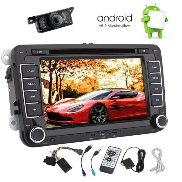 Android 6.0 Car DVD Player for Volkswagen 2 Din VW Car Stereo In Dash GPS Navigation Car Radio WiFi Canbus for SWT Back Camera
