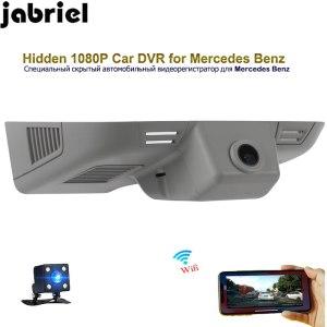 Jabriel app wifi control for Mercedes Benz W163 W164 X164 ML GL 350 General car dvr hidden 1080P car driving recorder dash cam