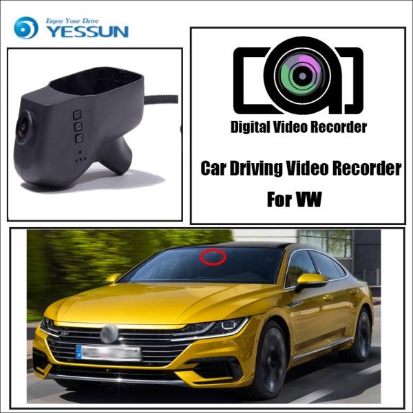 YESSUN for Volkswagen Sigtar Car Driving Video Recorder DVR Mini Wifi Camera FHD 1080P Dash Cam