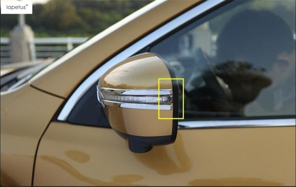 Nissan Qashqai J11 2014 - 2018 Rear View Rubbing Strip Cover Trim