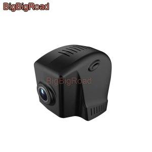 BigBigRoad Car Wifi DVR Video Recorder Dash Cam Camera For Volkswagen Passat 2016 2017 FHD 1080P Wide Angle