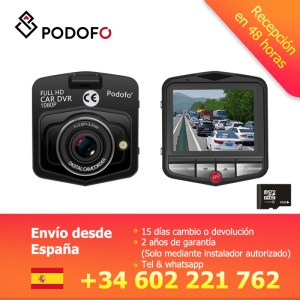 Podofo Mini Car DVR Camera Dashcam FHD 1080P Video Registrator Recorder G-sensor Night Vision Loop Recording Dash Cam Camcorder