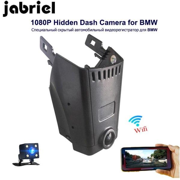 Jabriel hidden car driving recorder 1080P vehicle camera car dvr wifi dash cam dual lens camera for BMW 5/7 Series G30 G11 F10