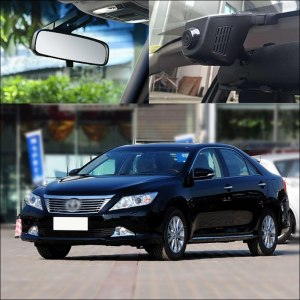 BigBigRoad For Toyota Camry Reiz Levin Yaris Verso EZ Etios liva PREVIA Esti-ma Tarago Car Wifi DVR Video Recorder Dash Camera