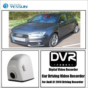YESSUN for Audi A1 8X Sportback GB 2010~2019 Car DVR Wifi Video Recorder Dash Cam Camera Night Vision Control Phone APP 1080P