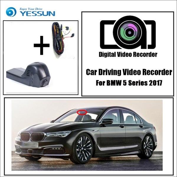 YESSUN for BMW 5 2017 Car DVR Dash Camera Driving Video Recorder Novatek 96655 FHD 1080P Dash Cam Night vision