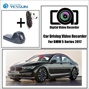 YESSUN for BMW 5 2017 Car DVR Dash Camera Driving Video Recorder Novatek 96655 FHD 1080P Dash Cam Night vision