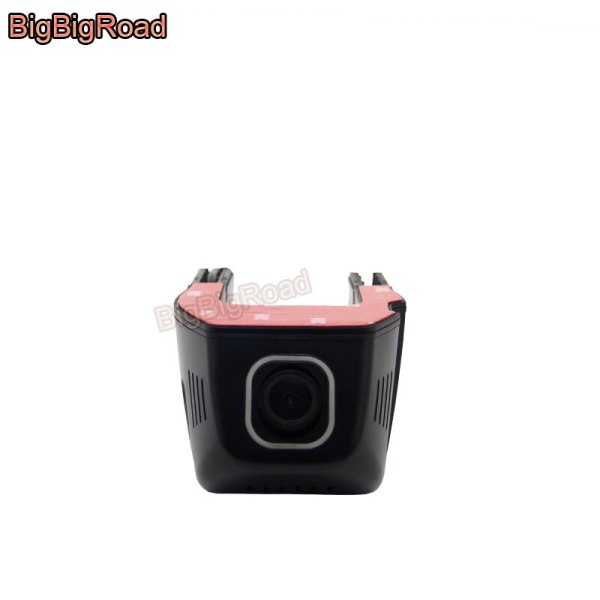 BigBigRoad For Peugeot 206 207 301 307 308s 408 508 2008 3008 4007 Car Wifi DVR Dual lens Dash Cam hidden type