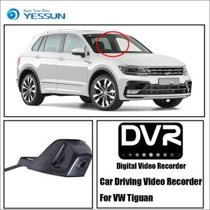 YESSUN for Volkswagen Tiguan For iPhone Android APP Control Function Car Front Dash Camera CAM DVR Driving Video Recorder