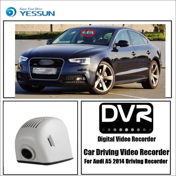 YESSUN for Audi A5 2014 Driving Recorder Car Wifi Dvr Mini Camera Novatek 96658 Full HD 1080P Car Dash Cam Video Recorder