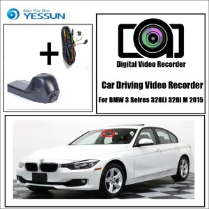YESSUN for BMW 3 Seires 328Li 328i M 2015 Car Driving Video Recorder DVR Dash Cam Mini Wifi Night Vision Support APP Camera