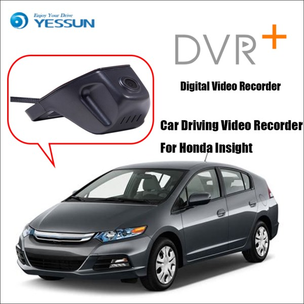 YESSUN for Honda Insight Front Camera Dash Not Reverse Parking Camera Car DVR Digital Video Recorder HD 1080P
