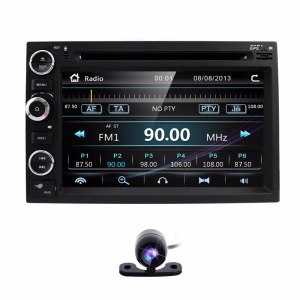 Fit Ford F-150 F-250/350/450/550 Mustang In-dash DVD GPS Navigation Stereo BT Steering Wheel Ctrl DAB RDS DVBT TPMS MAP REAR CAM