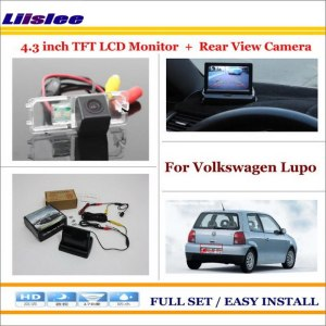 "Liislee For Volkswagen VW Lupo 1998~2006 - Car Rearview Camera + 4.3"" LCD Screen Monitor = 2 in 1 Parking Assistance System"