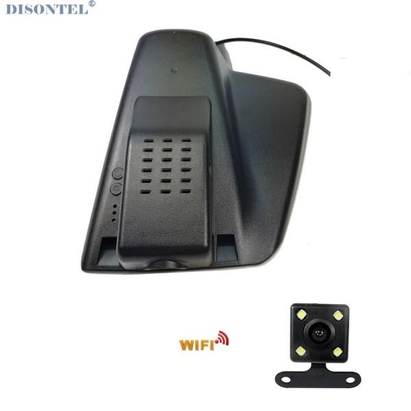 For Ford Edge High/Low configuration 2015 2016 2017 Car wifi DVR Video Recorder Novatek 96655 dash cam Dual Cameras