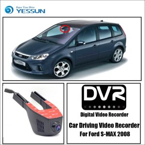 YESSUN for Ford S-MAX 2008 Car Driving Video Recorder Wifi DVR Mini Camera Novatek 96658 FHD 1080P Dash Cam Night Vision
