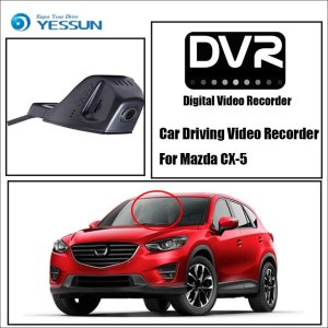 YESSUN DVR Driving Video Recorder For Mazda CX-5 Car Front Dash Camera CAM - For iPhone Android APP Control Function