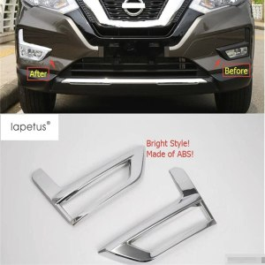 Front Fog Lamp Lights Molding Cover Kit Trim Nissan X-Trail X