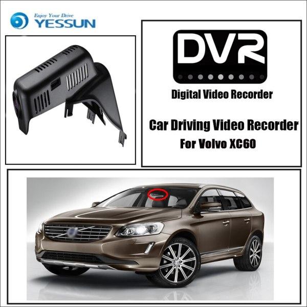 YESSUN for Volvo XC60 Car Driving Video Recorder DVR Mini Control APP Wifi Camera Novatek 96658 Registrator Dash Cam